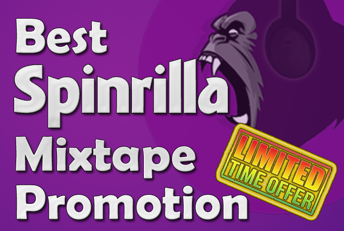 Spinrilla 3500 plays/views + 100 downloads
