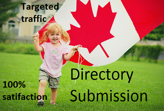 top 70 canadian directory submission manually