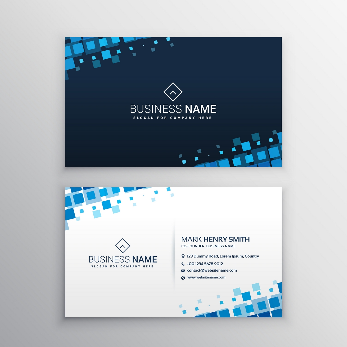 Design 3 Unique & Stylish Business Cards with PSD Source