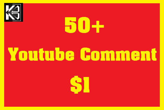 50+ YouTube Custom Comments Real & Non Drop