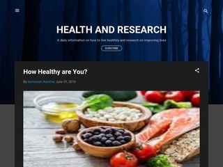 HEALTH AND RESEARCH