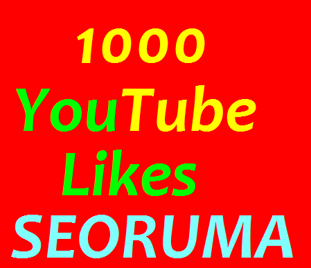 1000+ Real YouTube Video likes very fast completed