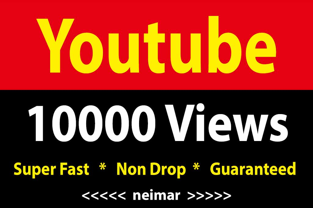10k / 10000 Youtube Vieews Fully Safe Lifetime Guaranteed