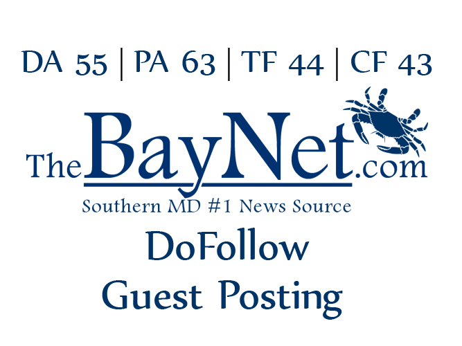 publish a guest post on TheBayNet with dofollow link