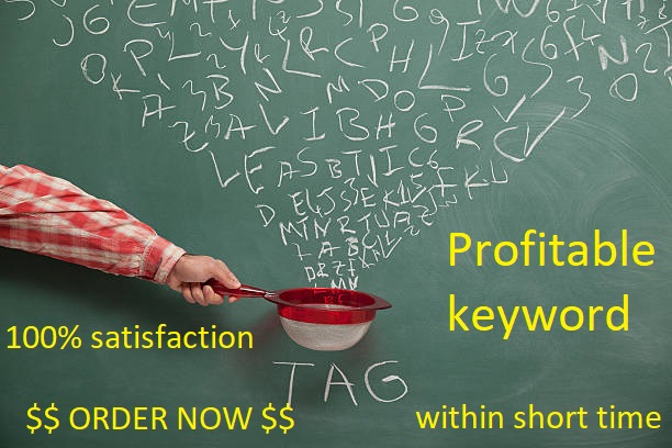 Do most profitable Seo Keyword Research And Competitor Analysis