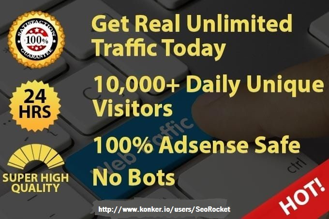 Drive 300k Real Targeted Traffic To Your Website For ...