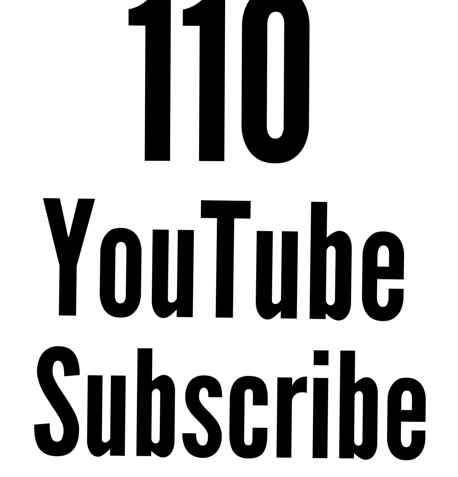 110 Active You tube Subs cribe fast delivery only for