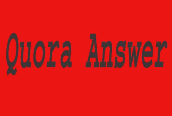 Improve Your Traffic With HQ Quora Answer