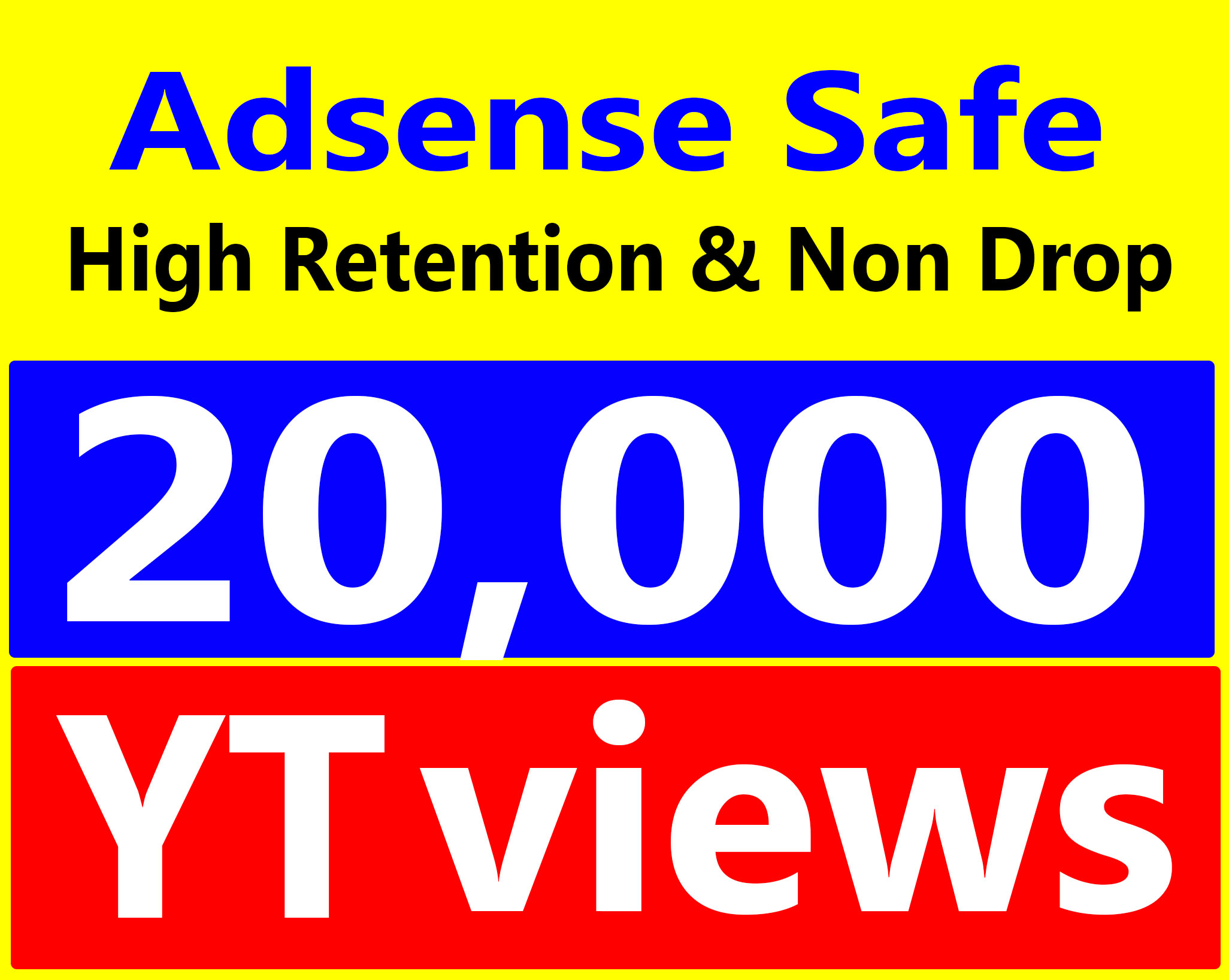 Fast Delivery 20,000+ Vie-ws High Retention 90-100% Safe & Non Drop Service