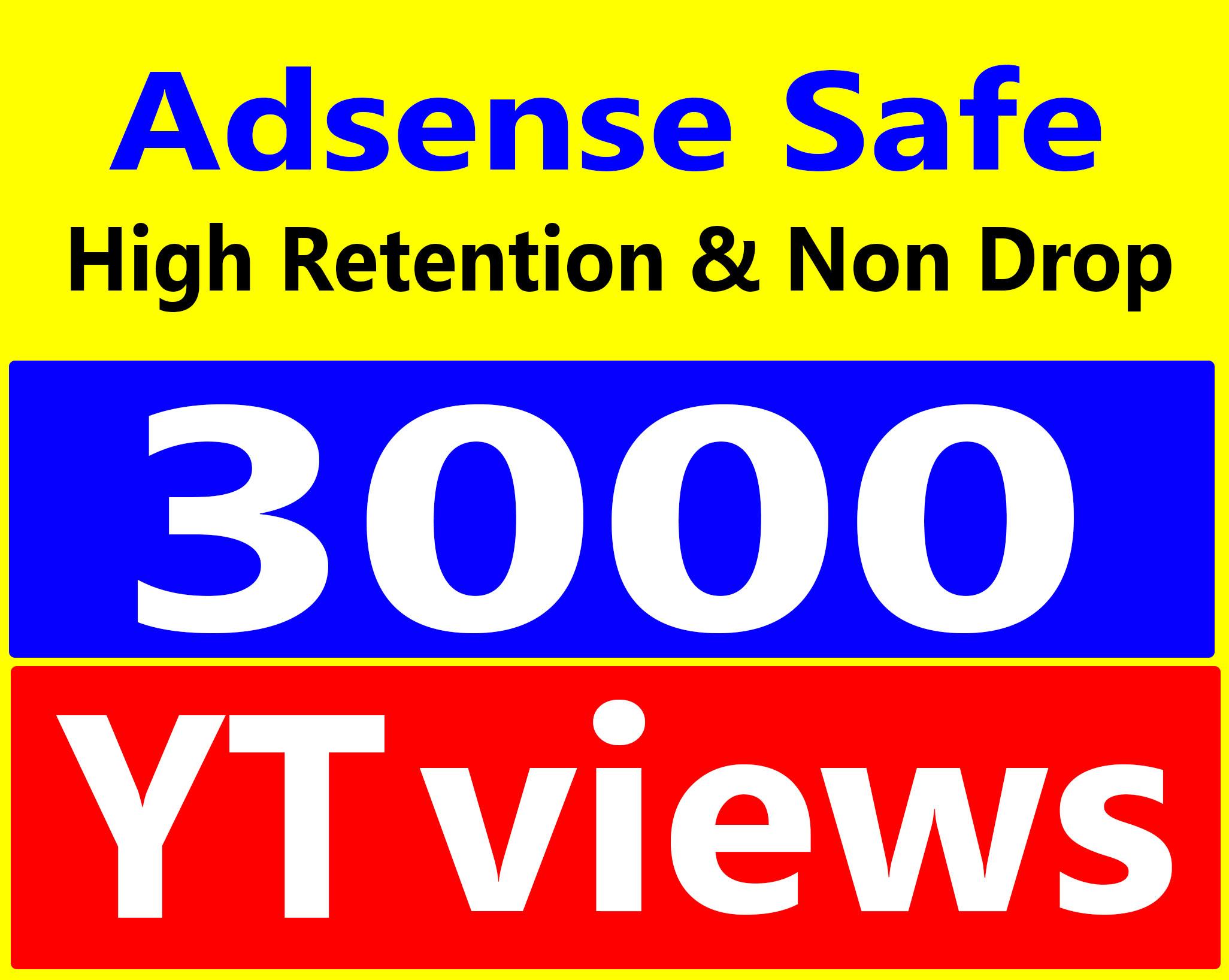 Fast Delivery 3000+ Vi-ews High Retention 90-100 Percent Safe & Non Drop Service