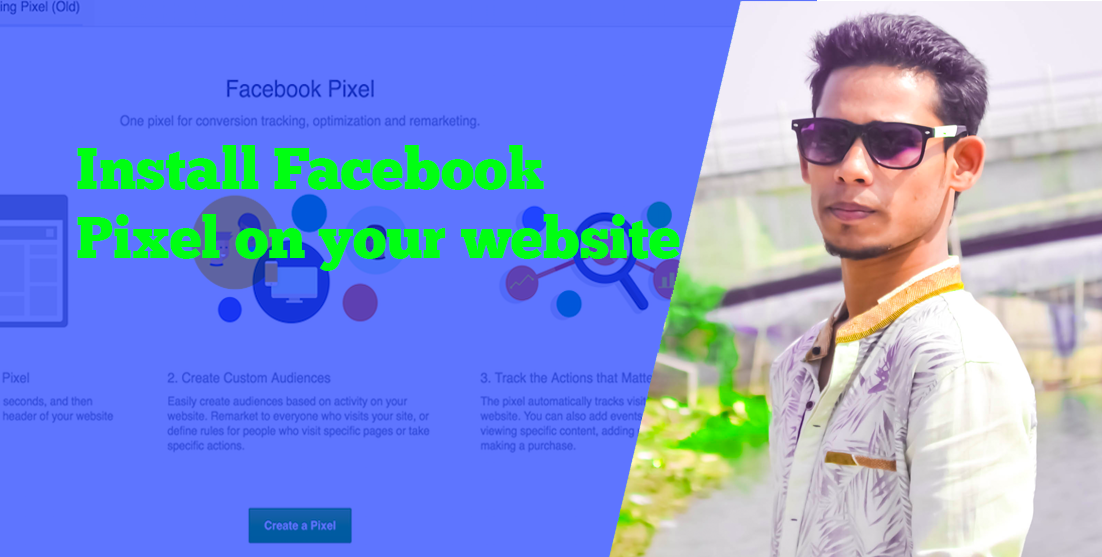 setup your facebook pixel code on your online store or site