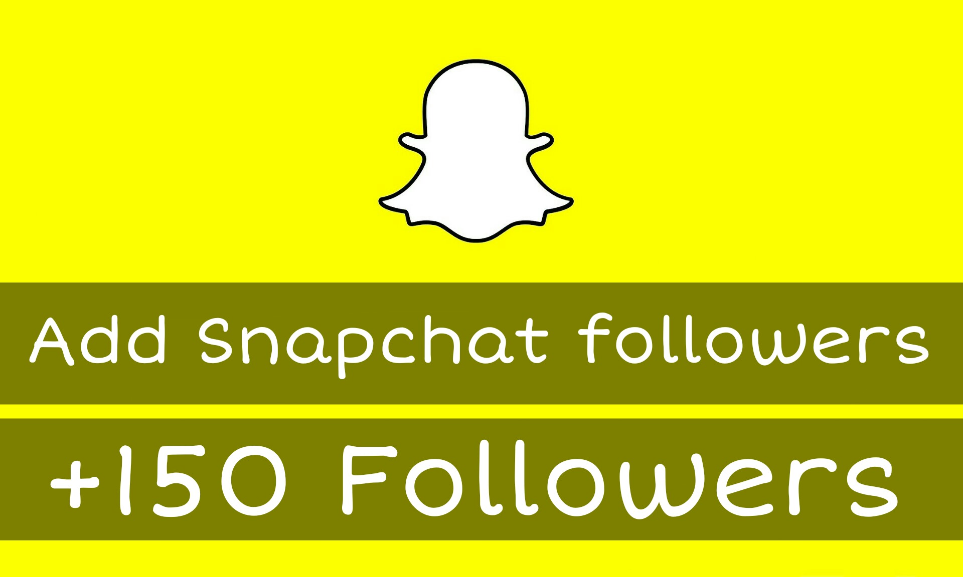 +150 Real Snapchat followers!