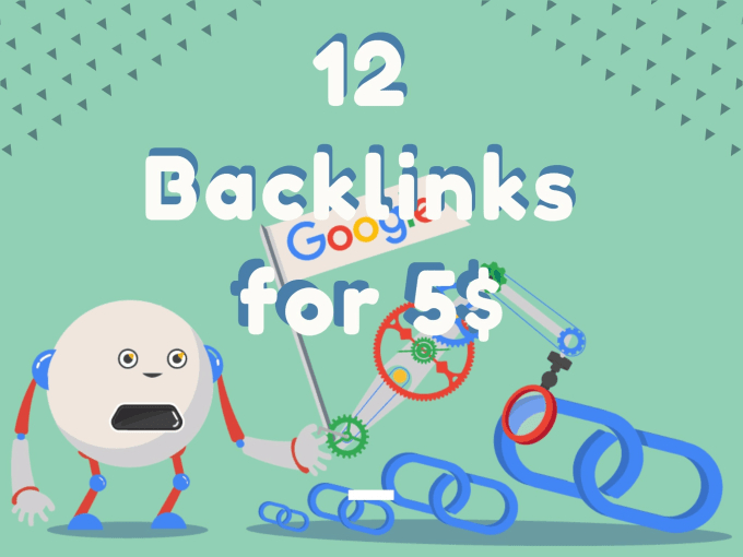 Create 12 High Quality And Unique Backlinks