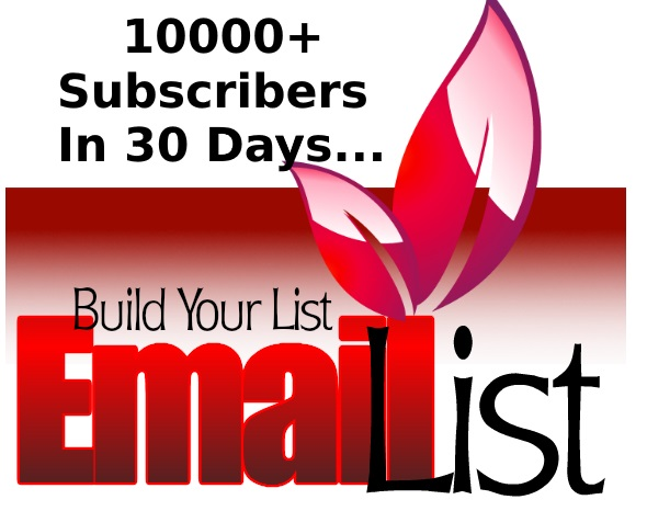 Build a targeted opt in email list for you - 7500+ Subscribers