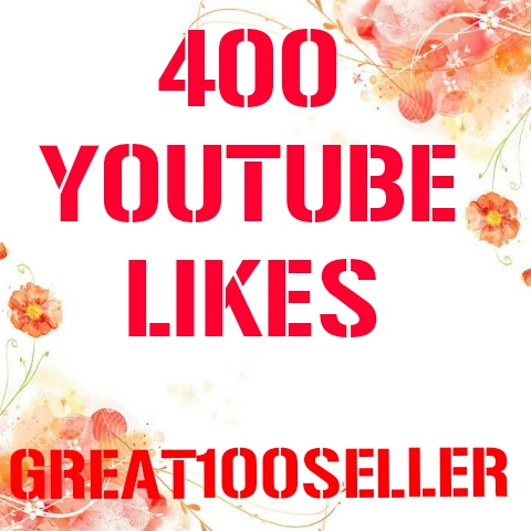 400 YouTube Likes Real super fast