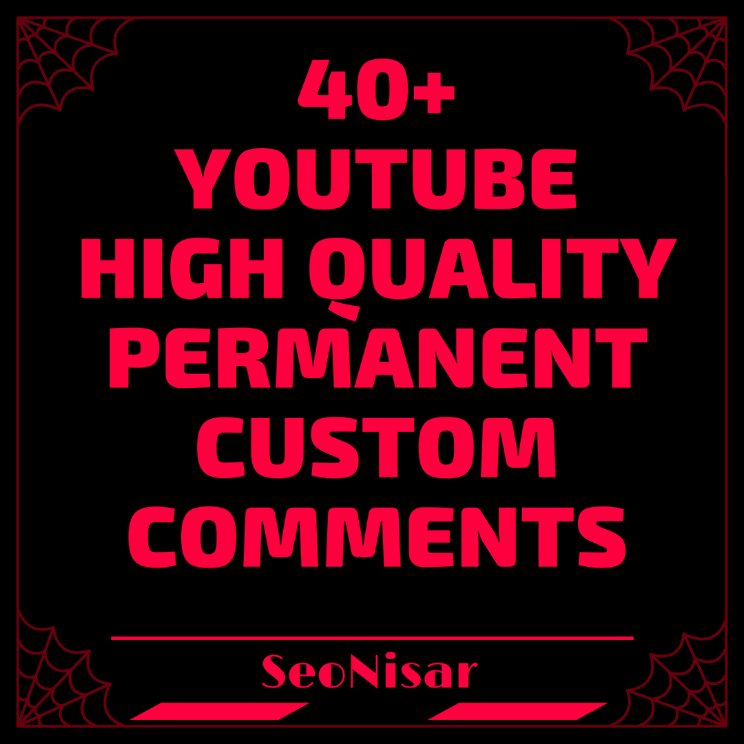 Real Add 40+ High Quality Y+T Custom Comments