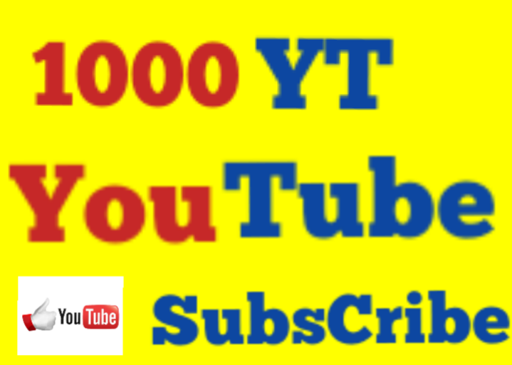 1000 t0 1050 Youtube Sub cribe High Quality Non Drop 12/24 hrs Fast Speed
