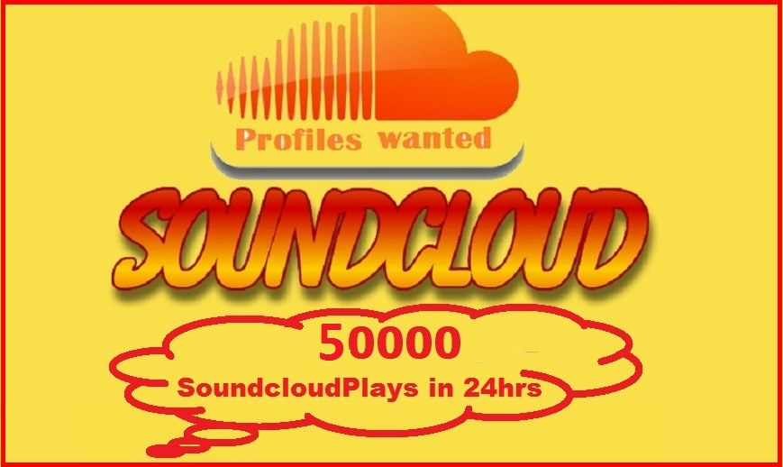 Instant Start 20000 soundcloud plays in your track