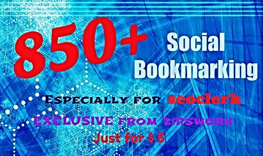 Do 850 Powerful Bookmarks To Your Site