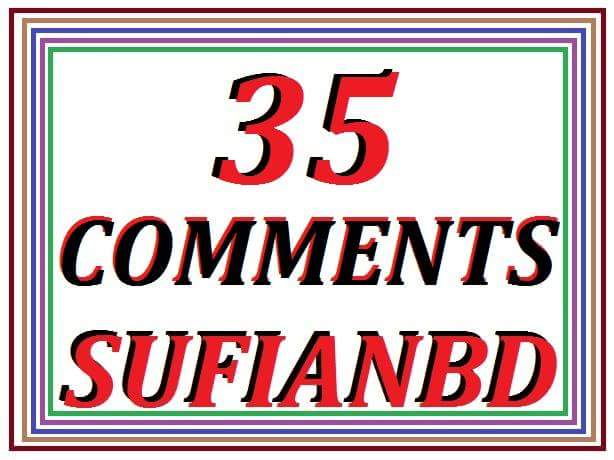 35 + 0 Comments super fast delivery