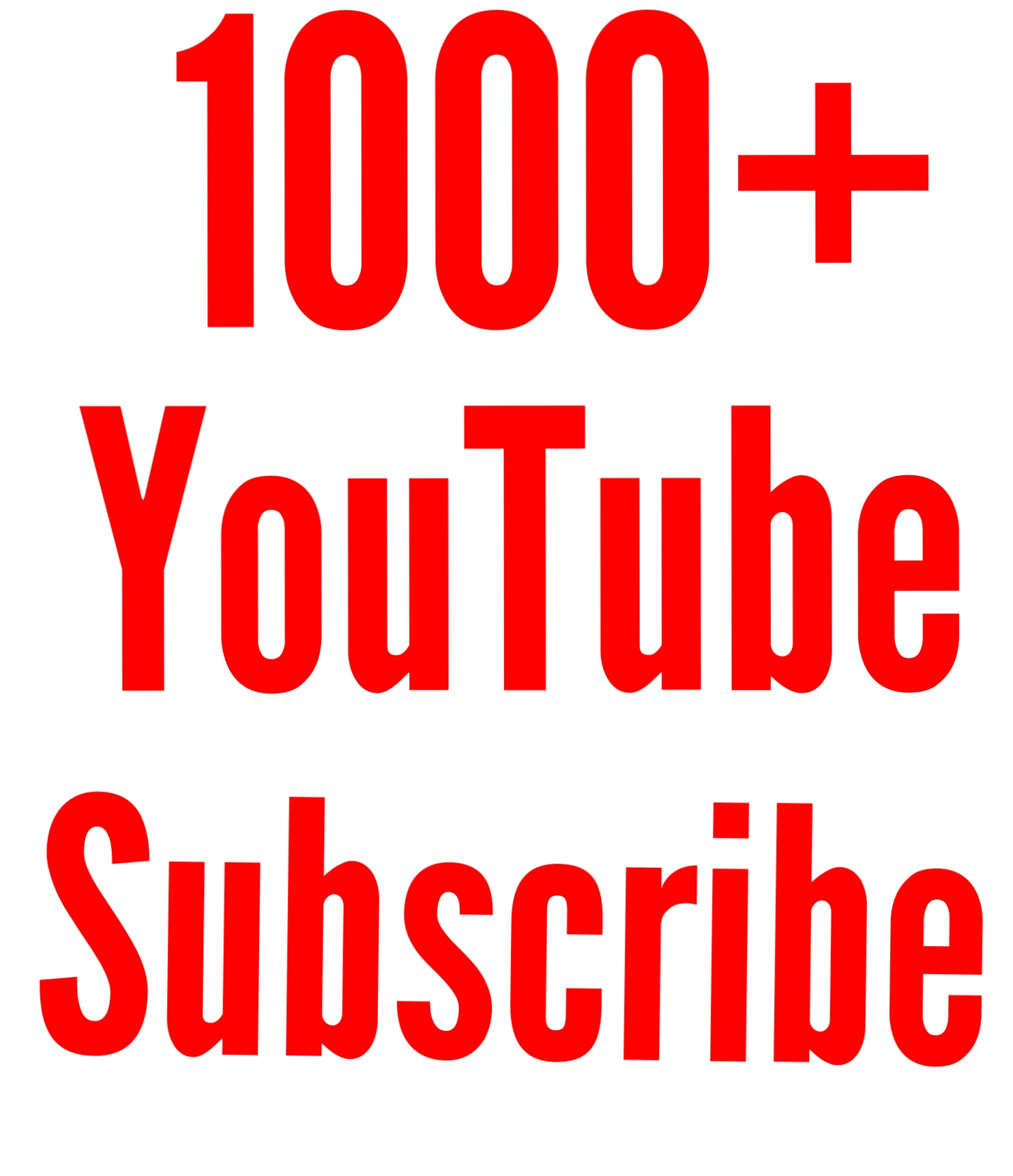 Active 1000+ You tube Subs cribe Super fast delivery only for
