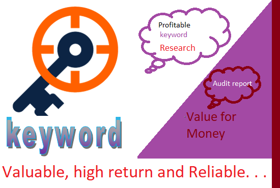 keyword research ,competitor analysis and on page seo