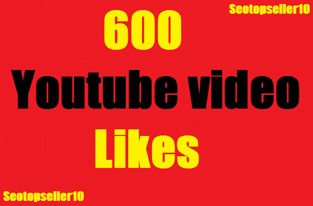 Get 500+  youtube video likes super fast instant start