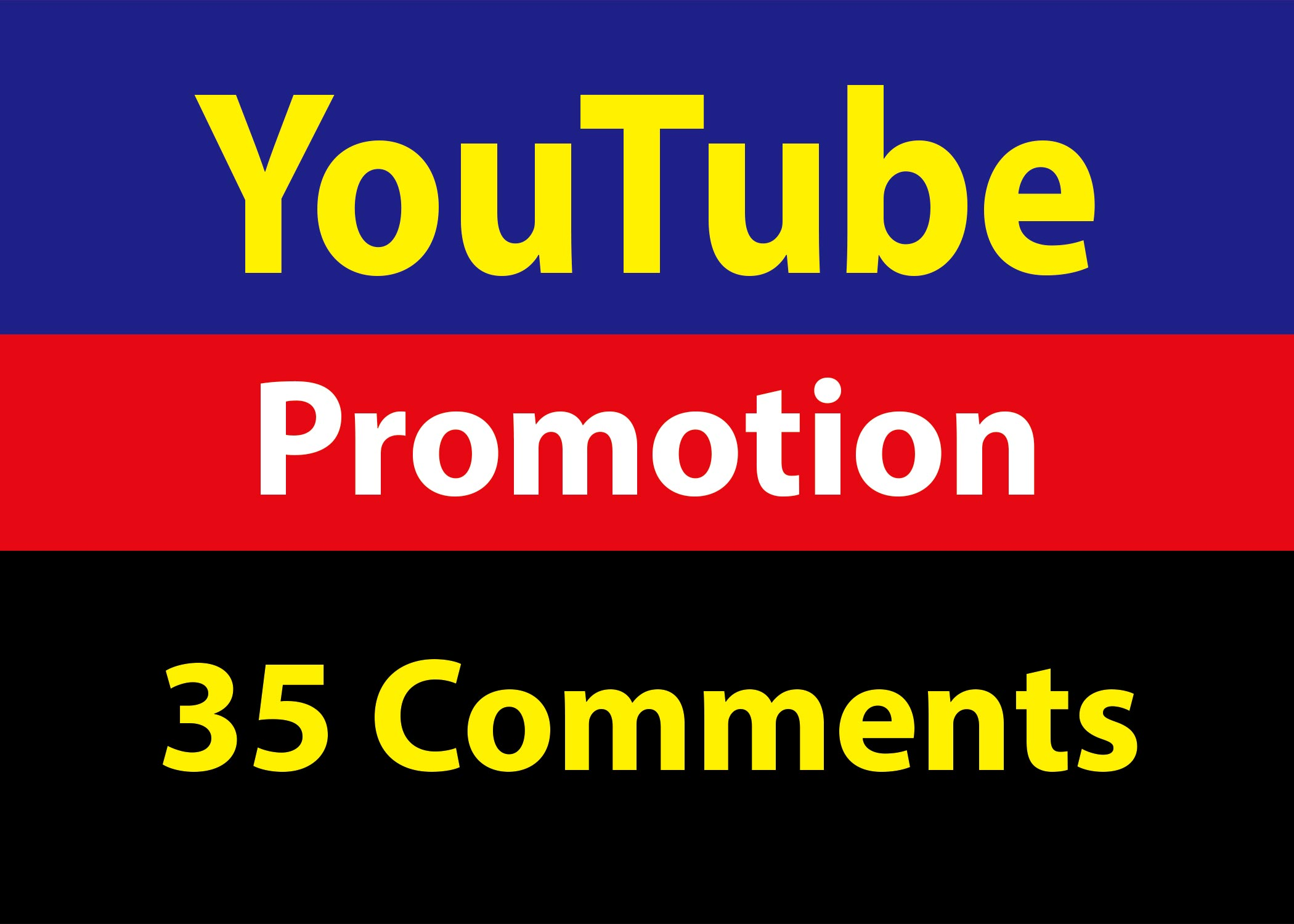 Guaranteed Real 35 YouTube Custom Coments INSTANT START