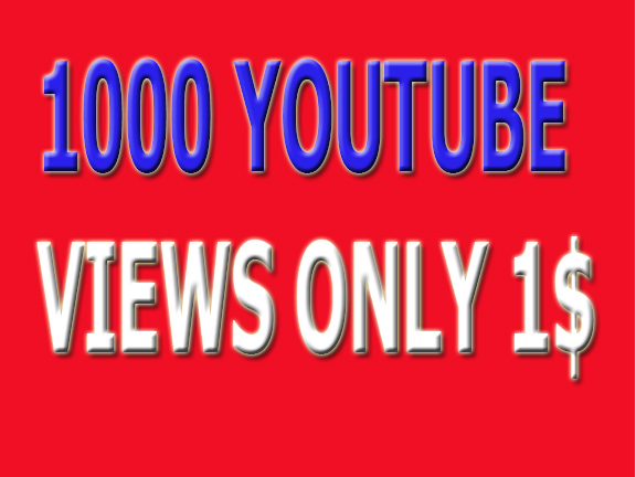 Safe1,000 +HR YouTube Views Non Drop Refill Guaranteed And Very Fast In Complete