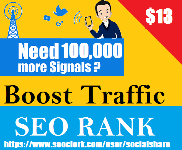 Top 5 Platform 100,000+ Permanent Social Signals For Affiliate Marketing & Business Promotion Help To Increase Website Traffic