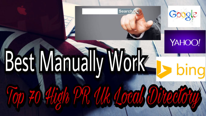 Do 70 High Quality UK Directory Submissions Manually