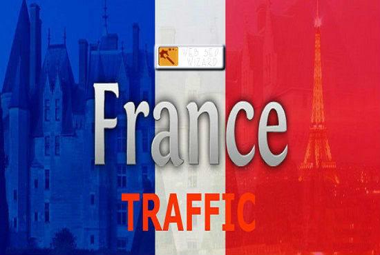 5000 FRANCE Website Traffic Visitors