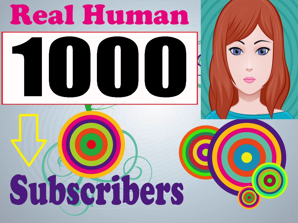 Guaranteed 1000 Sub-scribers Non drop high quality With Bonus 36-72 hours complete