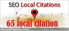 creat 65 best local citation