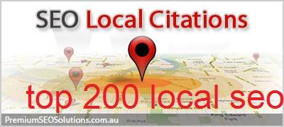 creat 200 best local citation