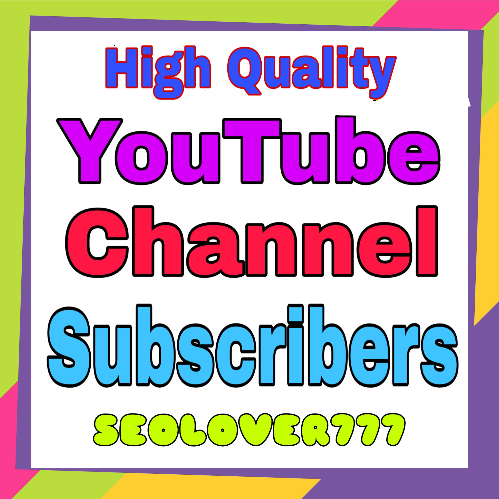 YouTube non drop & high quality promotion & marketing only
