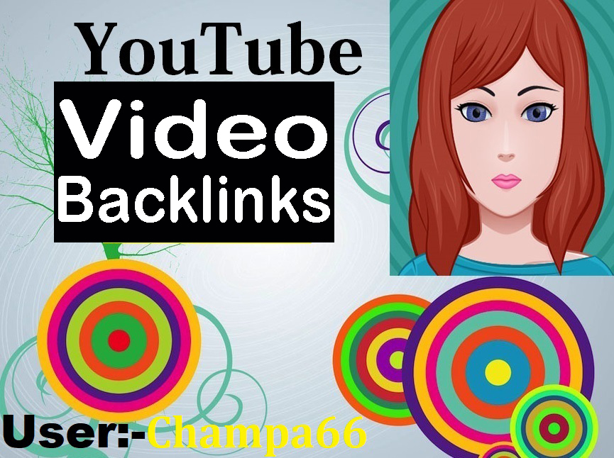 Any Website and Videos High PR Seo Backlinks