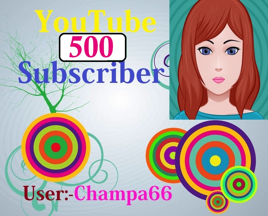 Guarantee 500 subscriber non drop fully safe and real active quick delivery