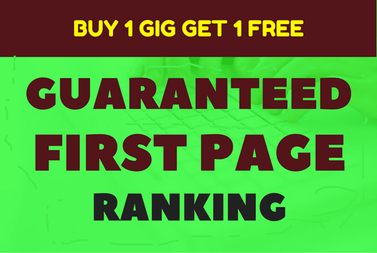 Guarantee First Page Ranking with 30 High Pr Do Follow SEO Backlinks