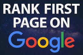 We Will Rank Your Website First Page Of Google