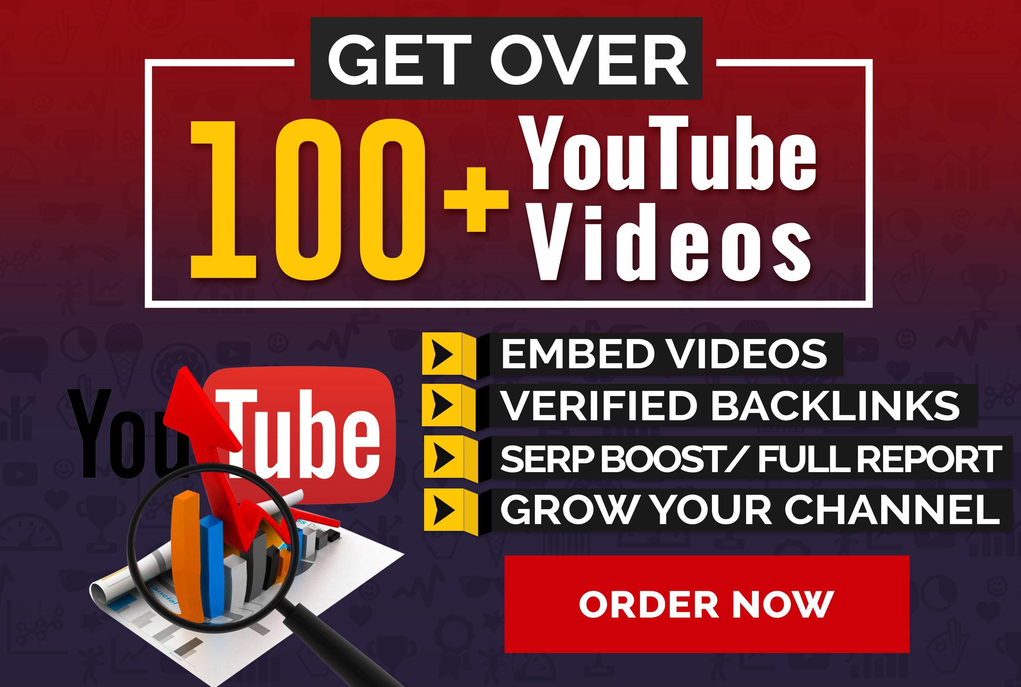 Embed 500 YouTube Video Backlinks With Free Indexing!