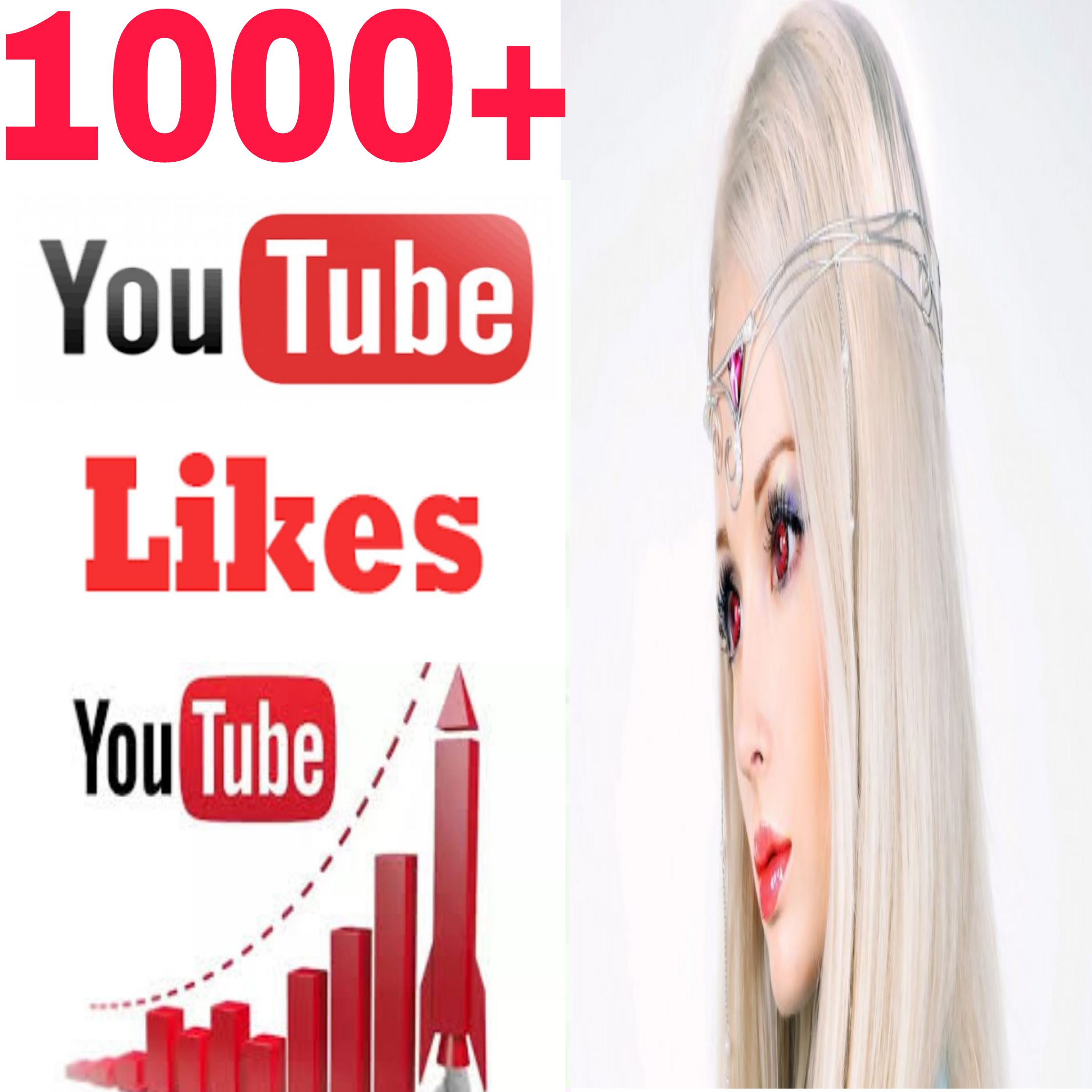 Special offer 1000+ Non Drop yt video likes very fast in 8-24 hours