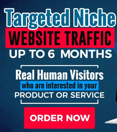 Up to 3,000 TARGETED KEYWORD HUMAN WEBSITE TRAFFIC