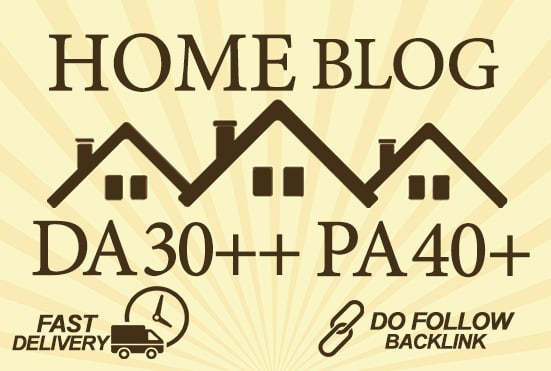 make guest post on da 30 quality home blog