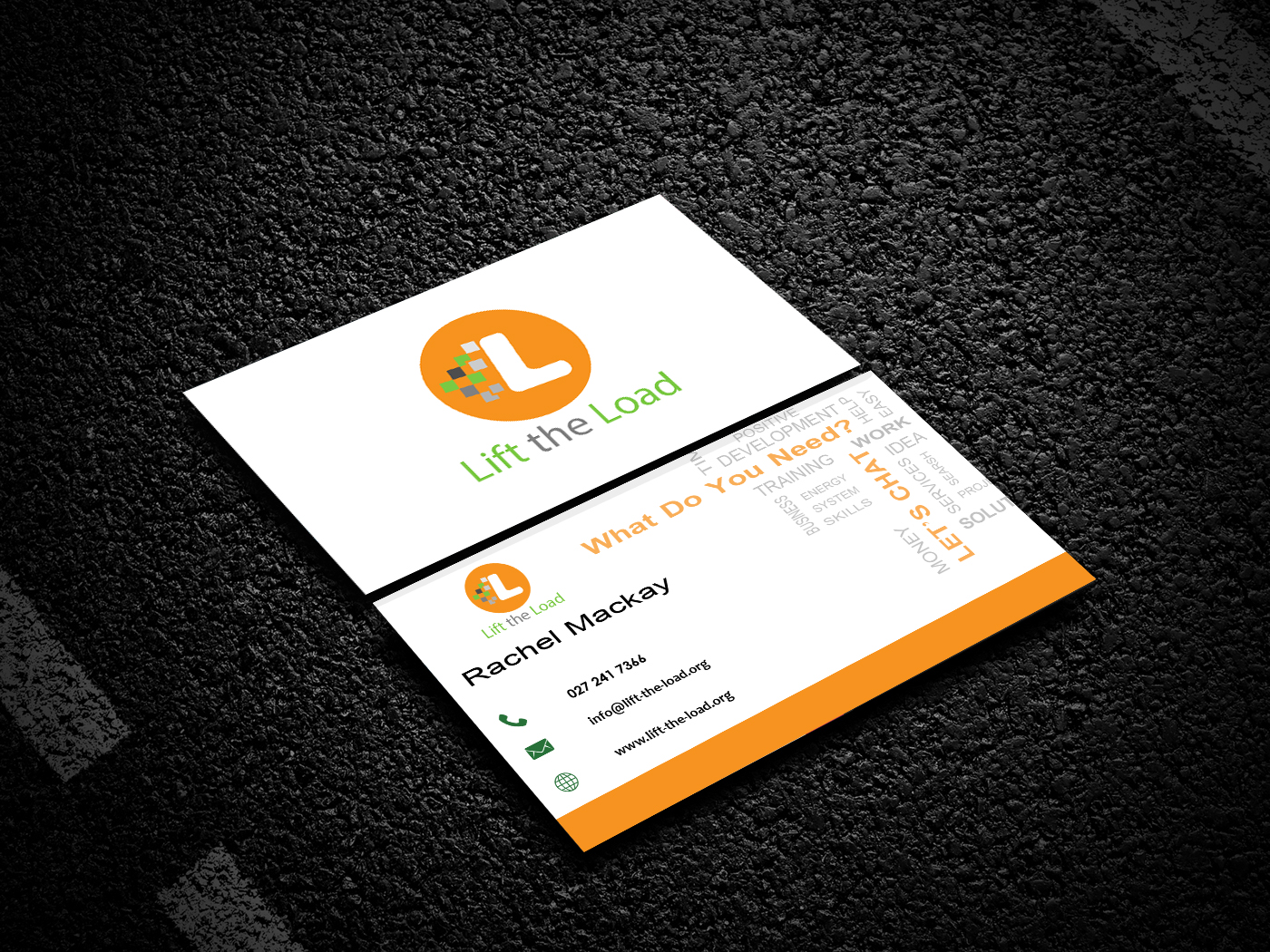 design a perfect business card for your work