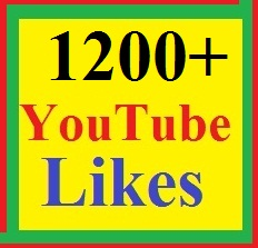 1200+ YouTube video Like-s supper fast just 24-48 hours delivery