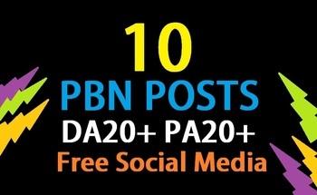 10 Manual TC CF DA PA 35+ PBNs to rank high in google