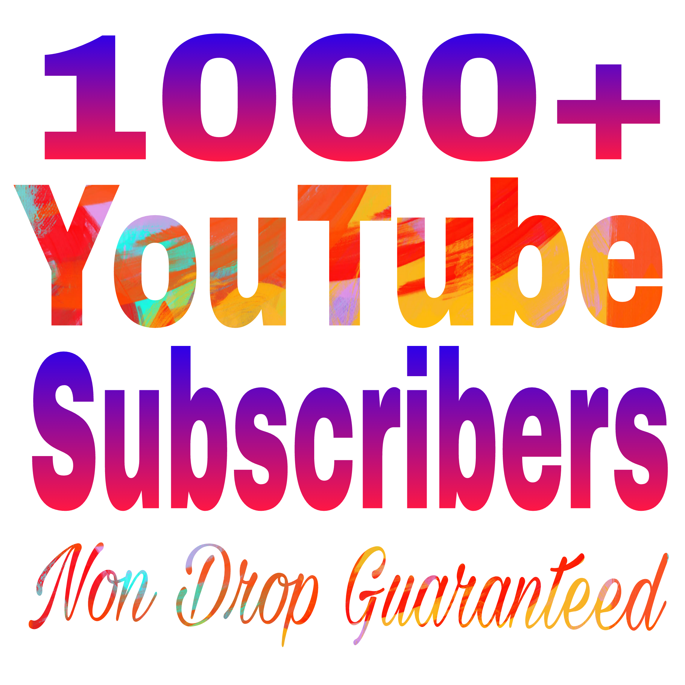 Instant start 1000+ channel subs non drop refill guaranteed in 24-97 hours delivery