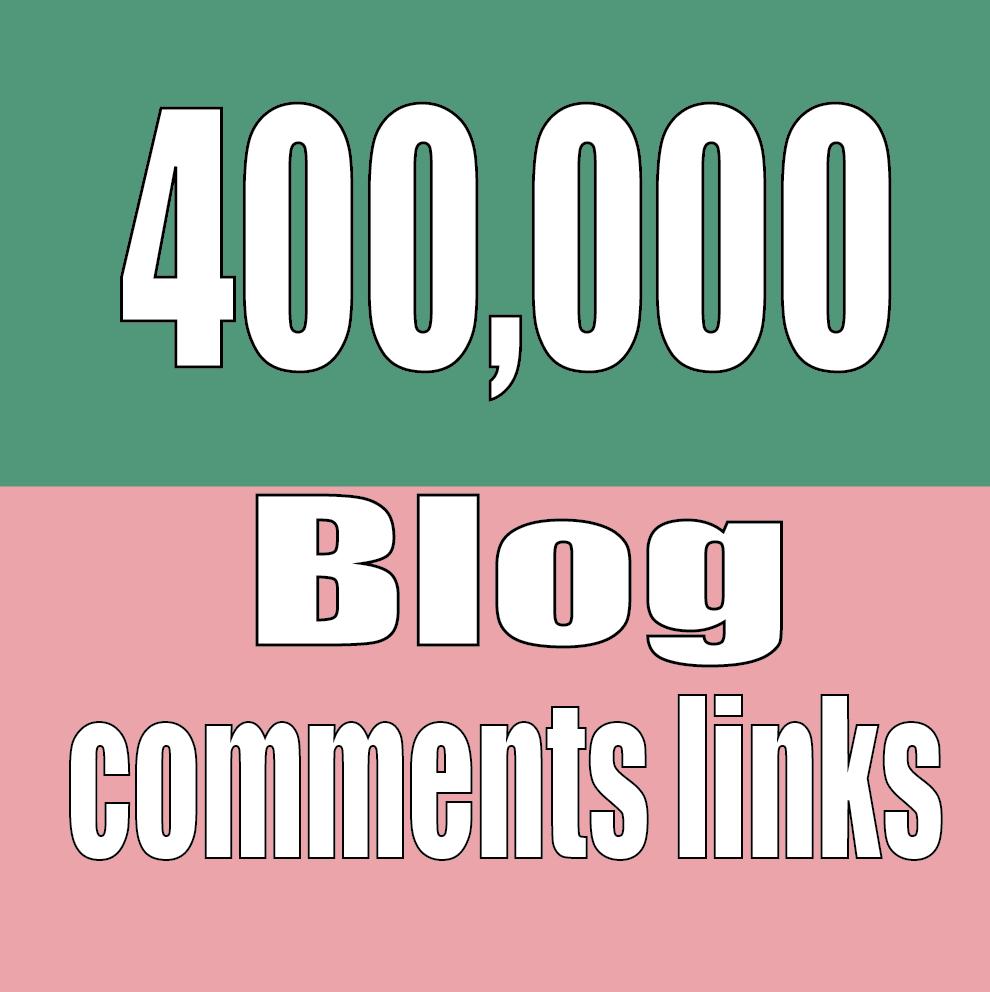 Do 400,000 Search Engine Ranker Blog Comments Backlinks