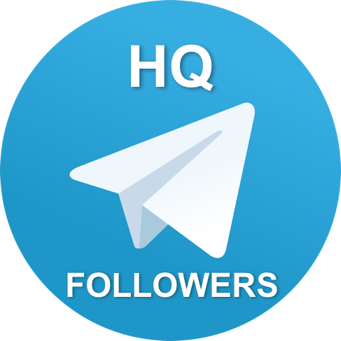 500 HQ telegram channel followers or group members